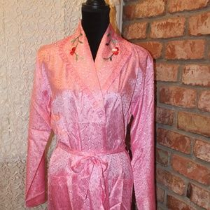Sweetheart Pink Vintage House Robe